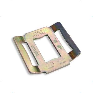 fibbia per cinghia fermacarico monouso one way lash stampata 50 mm 2000 kg F5020P