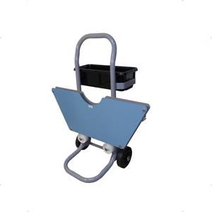 carrello dispensatore per reggetta acciaio ribbon mod DRP