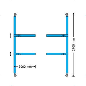 cinghie fermacarico cinghie pre confezionate per container HQ N6